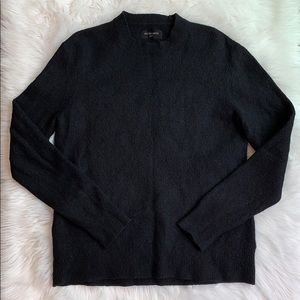 ALL SAINTS Hawk Crew Men's Black Sweater Large